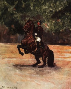Classical Dressage Levade